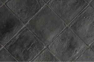 Quadrato antico restauro nero