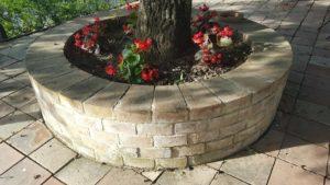 Handmade terracotta bricks for well